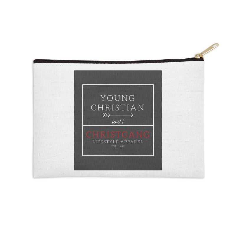 Young Christian Accessories Zip Pouch by ChristGang Apparel