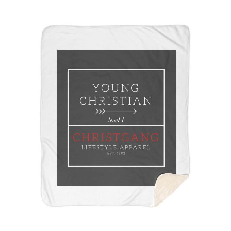 Young Christian Home Blanket by ChristGang Apparel