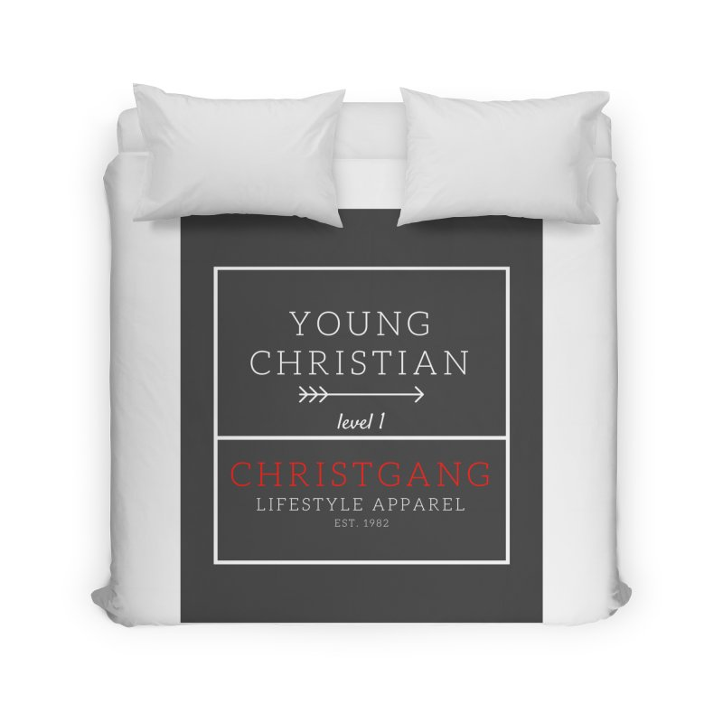 Young Christian Home Duvet by ChristGang Apparel