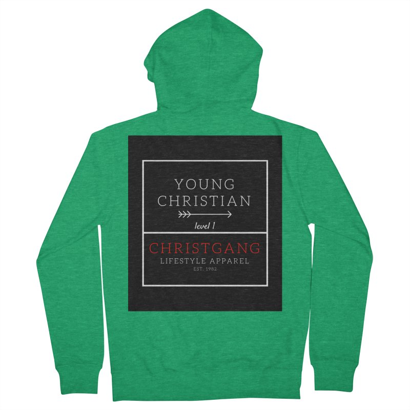 Young Christian Men's Zip-Up Hoody by ChristGang Apparel
