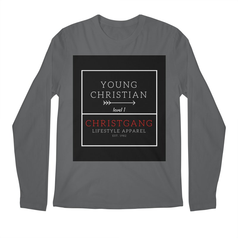 Young Christian Men's Longsleeve T-Shirt by ChristGang Apparel