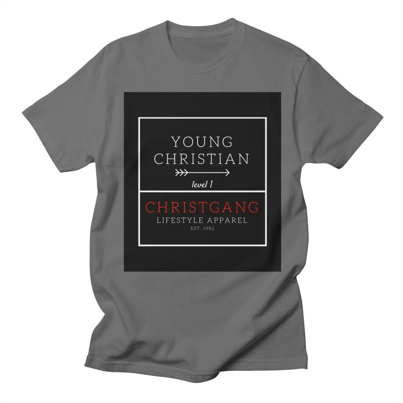 Young Christian Men's T-Shirt by ChristGang Apparel