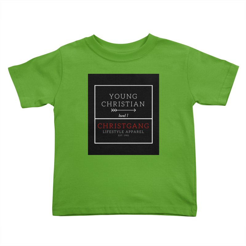 Young Christian Kids Toddler T-Shirt by ChristGang Apparel
