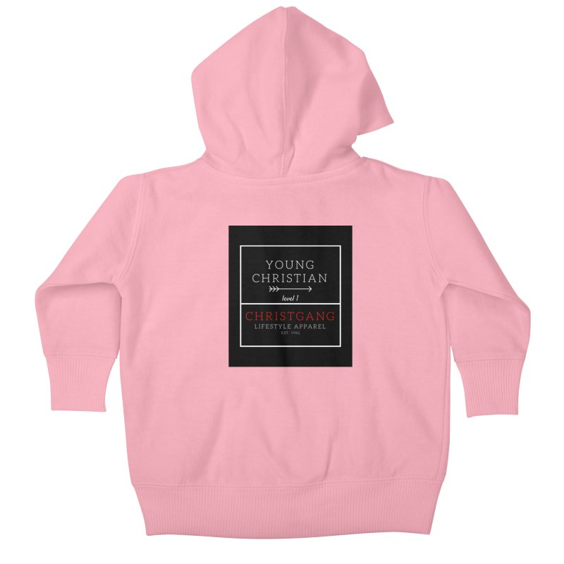 Young Christian Kids Baby Zip-Up Hoody by ChristGang Apparel