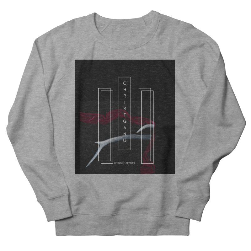 ChristGang 3 Men's French Terry Sweatshirt by ChristGang Apparel