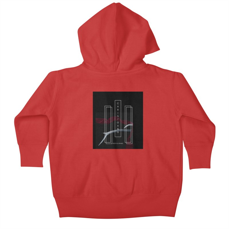 ChristGang 3 Kids Baby Zip-Up Hoody by ChristGang Apparel