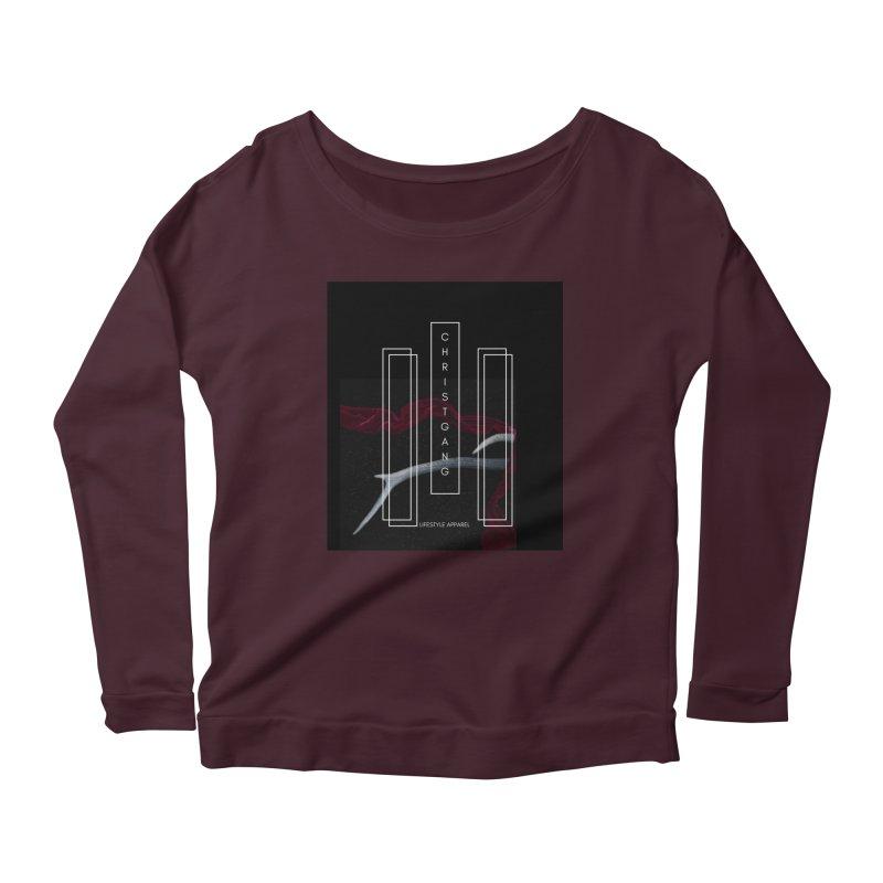 ChristGang 3 Women's Scoop Neck Longsleeve T-Shirt by ChristGang Apparel