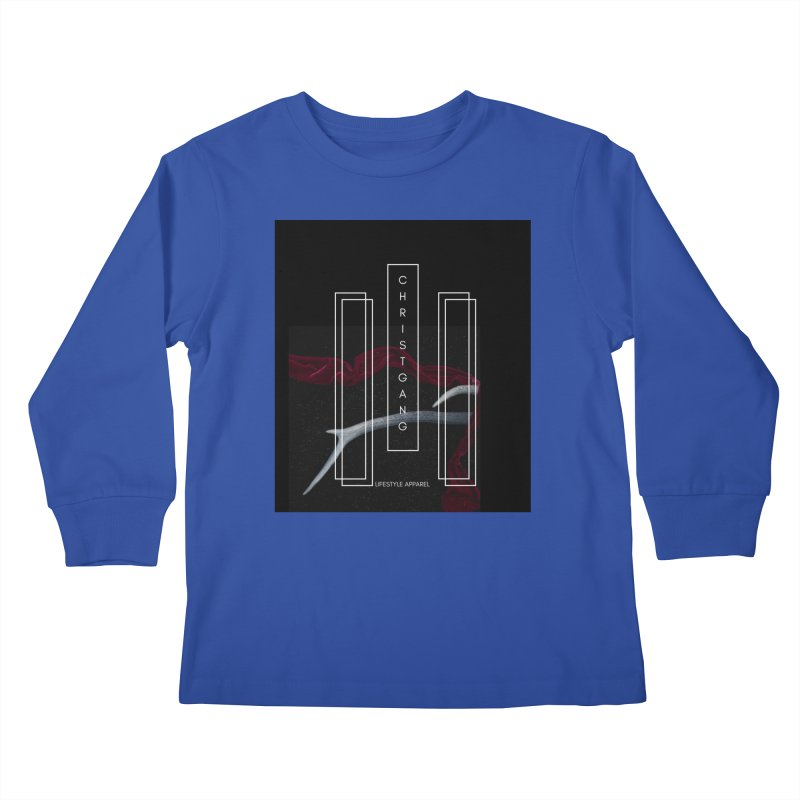ChristGang 3 Kids Longsleeve T-Shirt by ChristGang Apparel