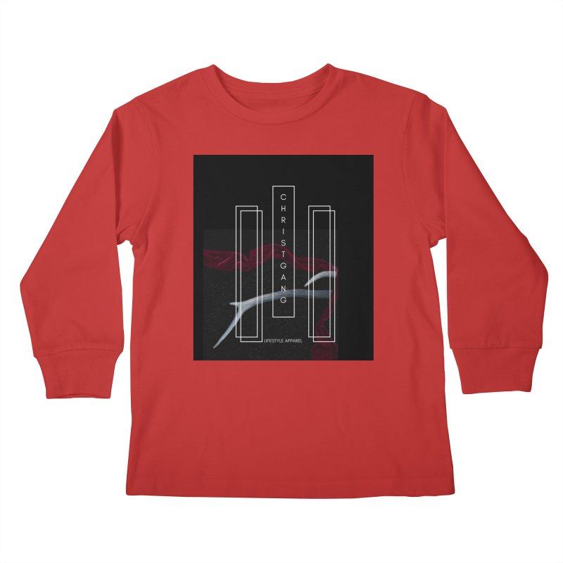 ChristGang 3 Kids Longsleeve T-Shirt by ChristGang Apparel