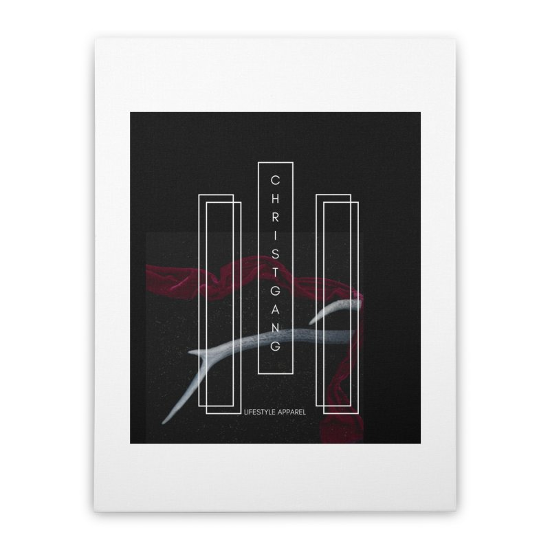 ChristGang 3 Home Stretched Canvas by ChristGang Apparel