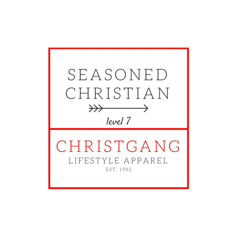 Seasoned Christian Men's Tank by ChristGang Apparel