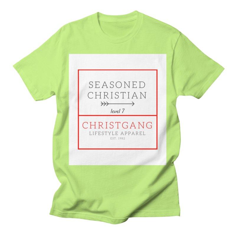 Seasoned Christian Men's T-Shirt by ChristGang Apparel