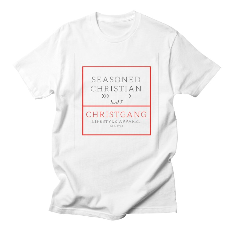 Seasoned Christian Men's T-Shirt by ChristGang Apparel