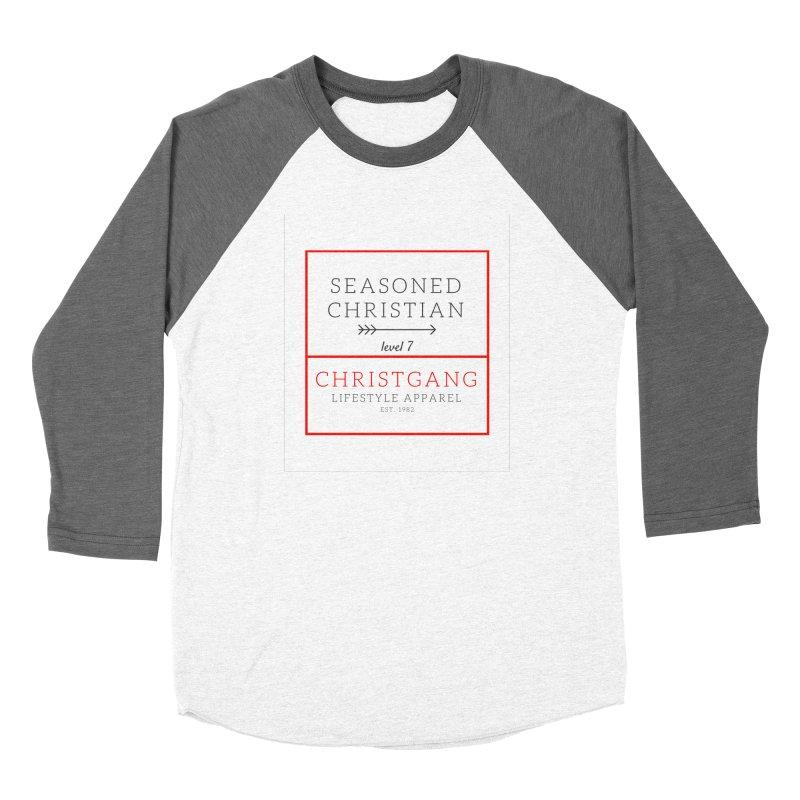 Seasoned Christian Women's Longsleeve T-Shirt by ChristGang Apparel