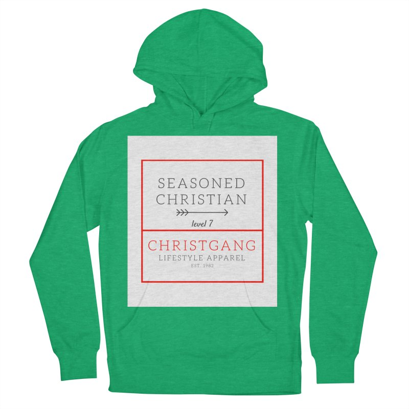 Seasoned Christian Women's French Terry Pullover Hoody by ChristGang Apparel