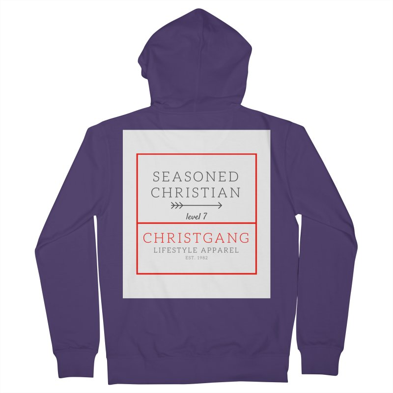 Seasoned Christian Women's French Terry Zip-Up Hoody by ChristGang Apparel