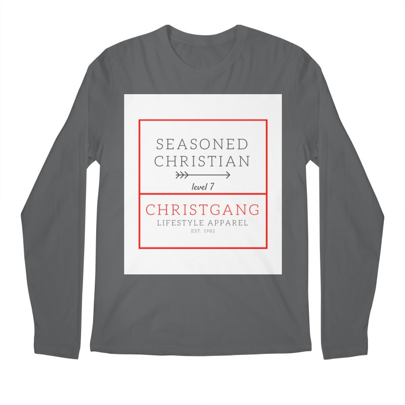 Seasoned Christian Men's Longsleeve T-Shirt by ChristGang Apparel