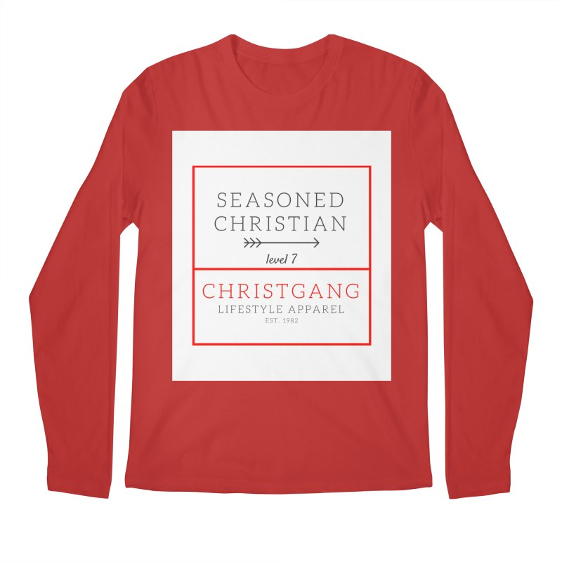Seasoned Christian Men's Regular Longsleeve T-Shirt by ChristGang Apparel