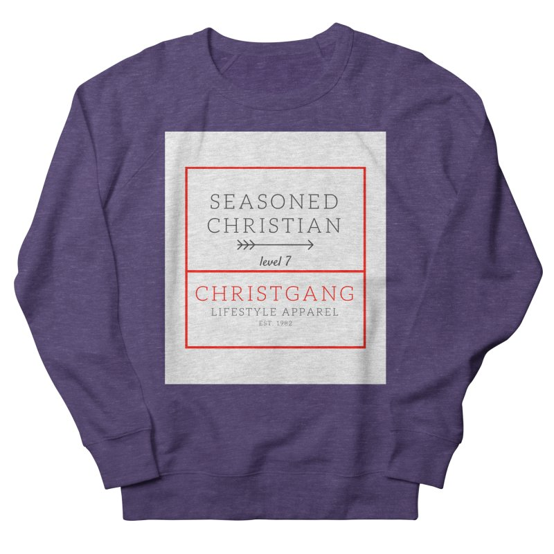 Seasoned Christian Men's French Terry Sweatshirt by ChristGang Apparel