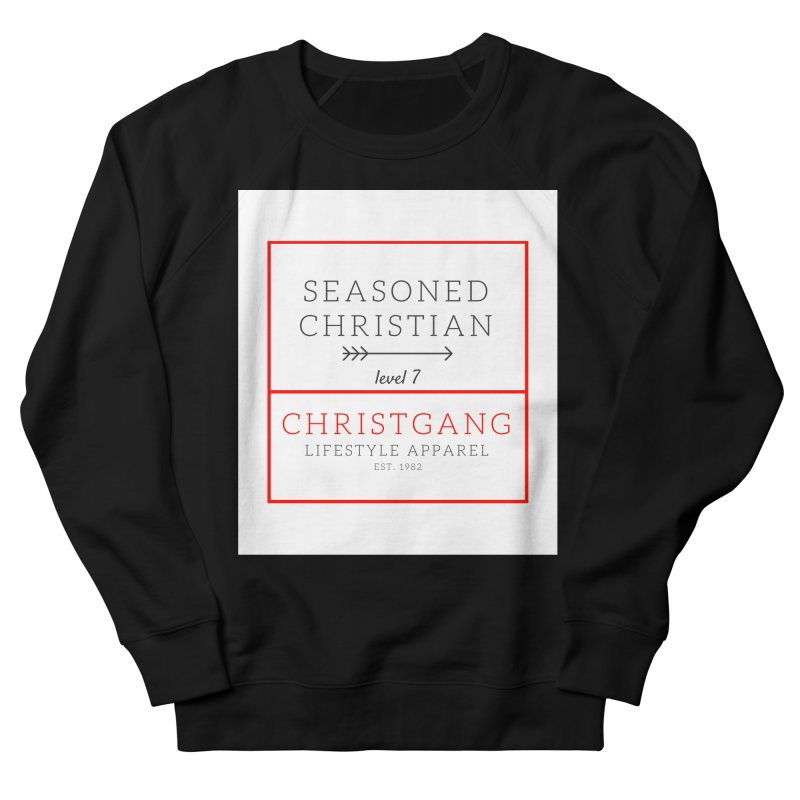 Seasoned Christian Men's Sweatshirt by ChristGang Apparel