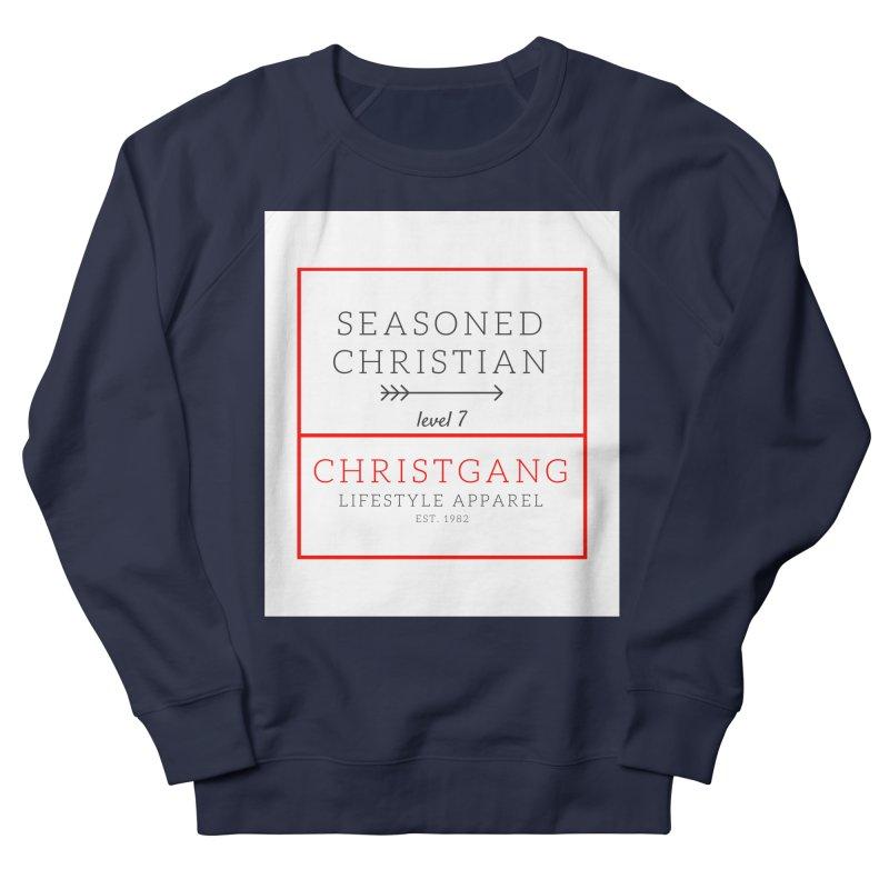 Seasoned Christian Men's Sweatshirt by ChristGang Apparel