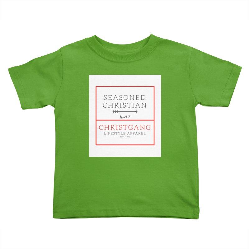 Seasoned Christian Kids Toddler T-Shirt by ChristGang Apparel