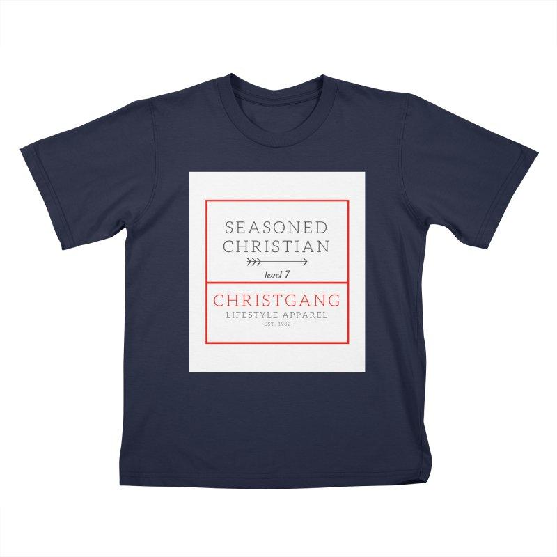 Seasoned Christian Kids T-Shirt by ChristGang Apparel