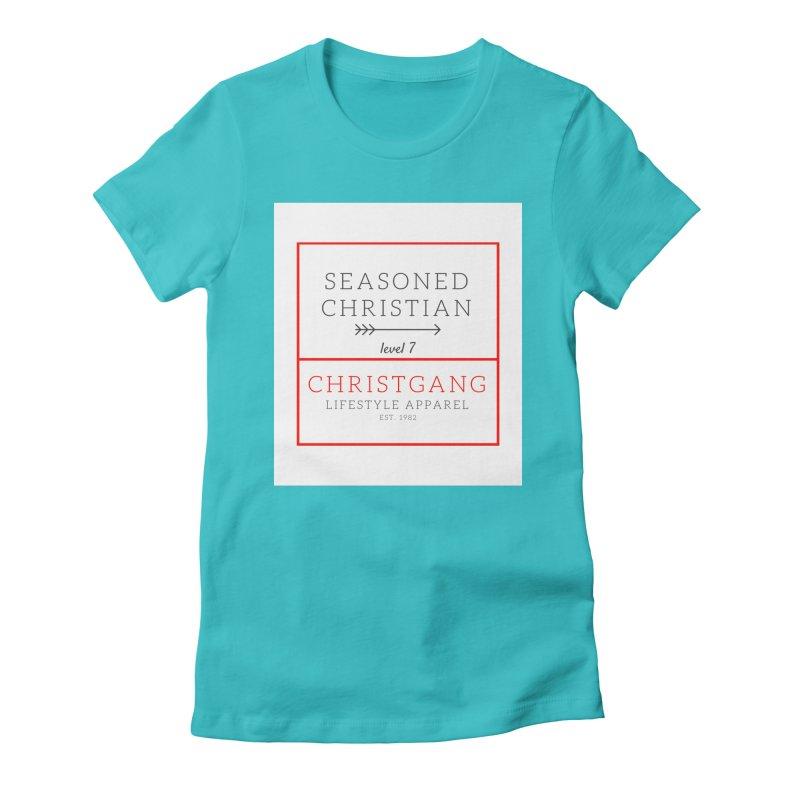 Seasoned Christian Women's T-Shirt by ChristGang Apparel