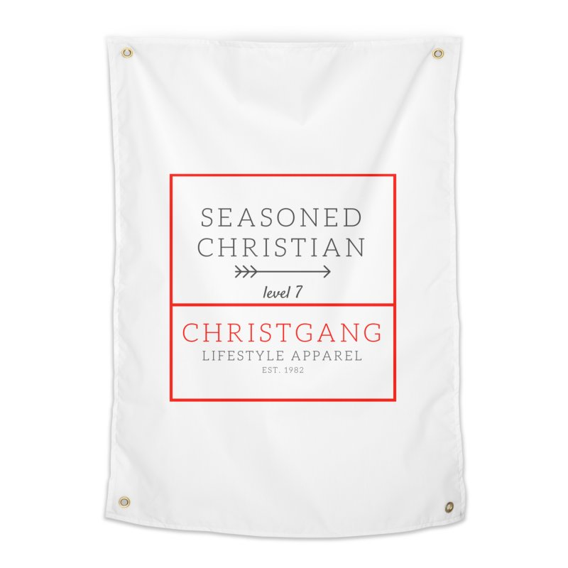 Seasoned Christian Home Tapestry by ChristGang Apparel