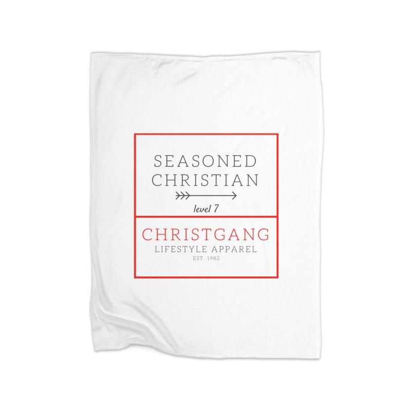 Seasoned Christian Home Blanket by ChristGang Apparel