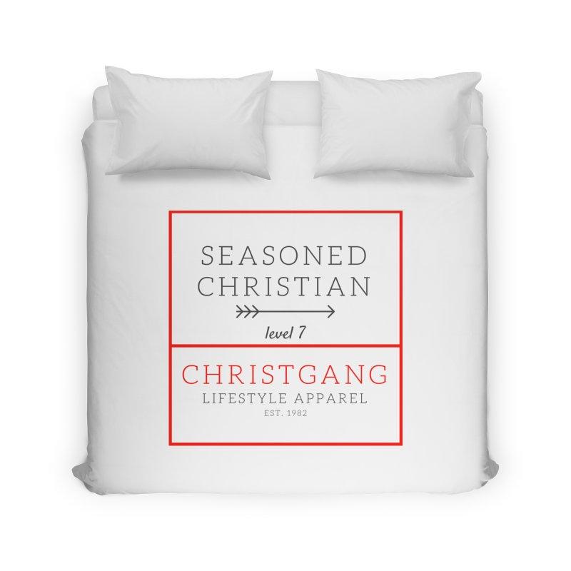 Seasoned Christian Home Duvet by ChristGang Apparel