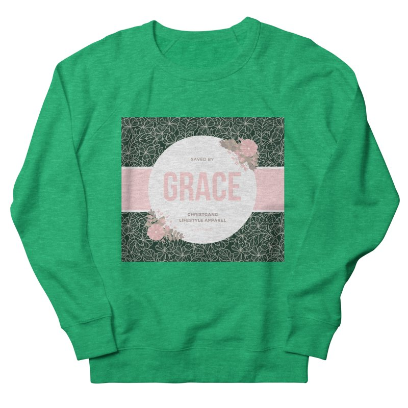 Saved By Grace Women's Sweatshirt by ChristGang Apparel