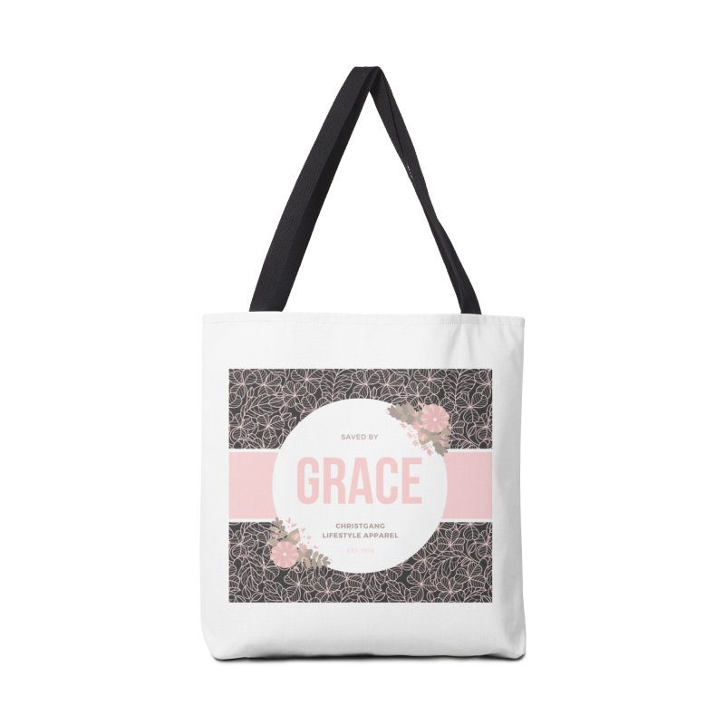 Saved By Grace Accessories Bag by ChristGang Apparel