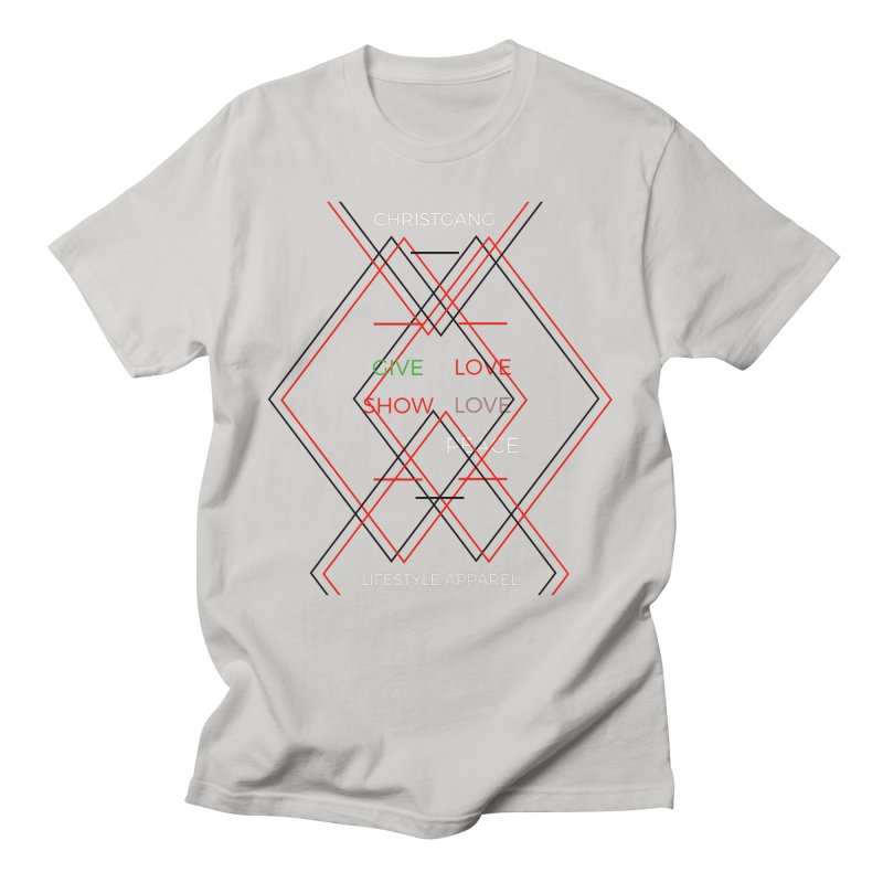 Give Love Show Love Men's T-Shirt by ChristGang Apparel