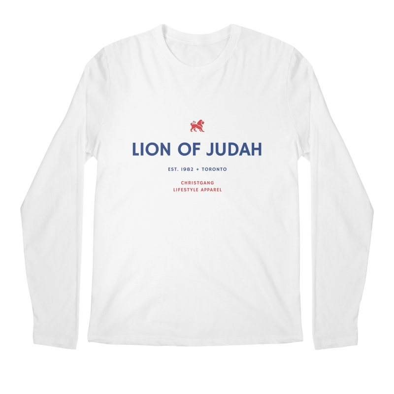 Lion Of Judah Men's Regular Longsleeve T-Shirt by ChristGang Apparel