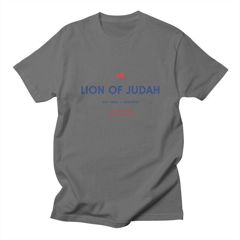 Lion Of Judah Men's T-Shirt by ChristGang Apparel