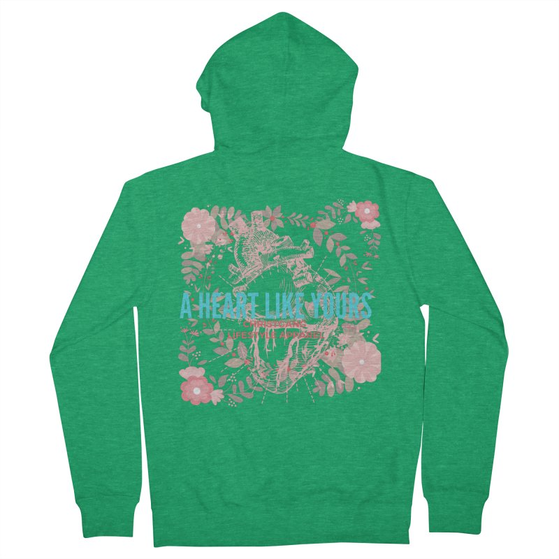A Heart Like Yours Women's Zip-Up Hoody by ChristGang Apparel