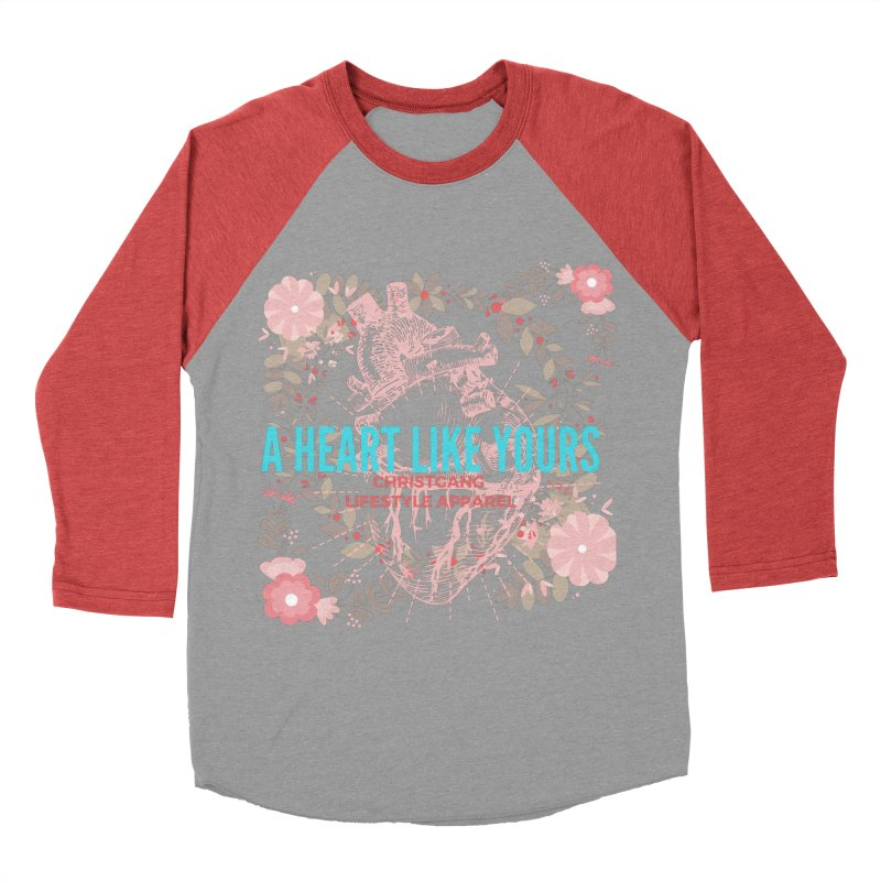 A Heart Like Yours Men's Longsleeve T-Shirt by ChristGang Apparel