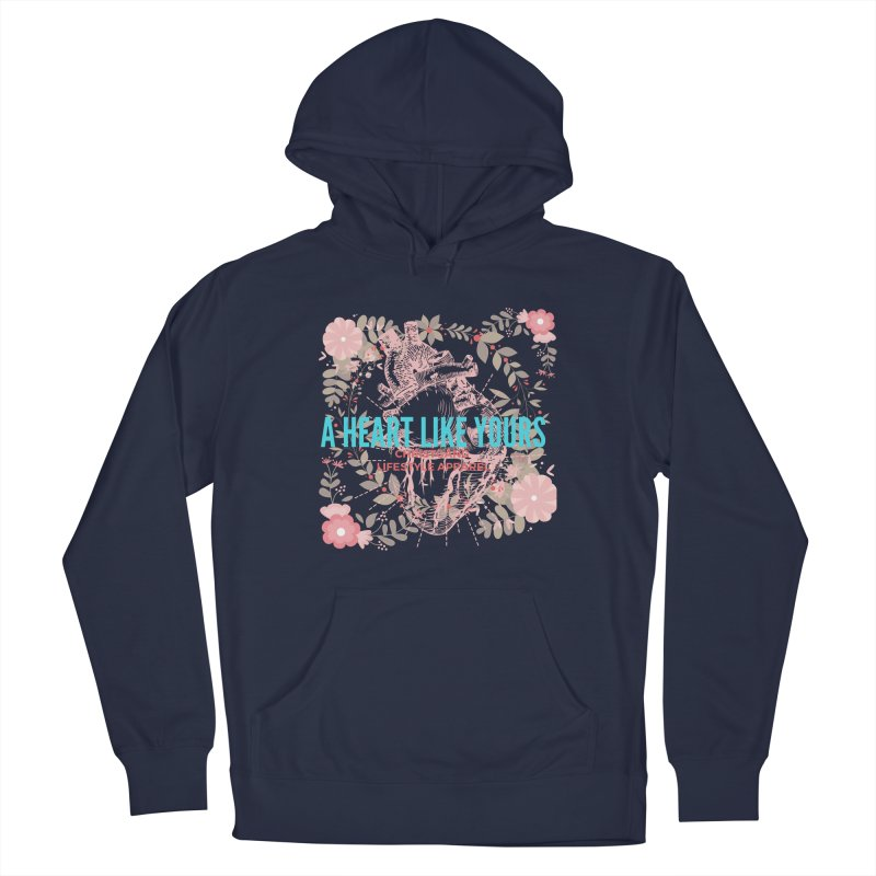 A Heart Like Yours Men's Pullover Hoody by ChristGang Apparel