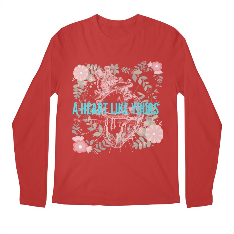 A Heart Like Yours Men's Regular Longsleeve T-Shirt by ChristGang Apparel