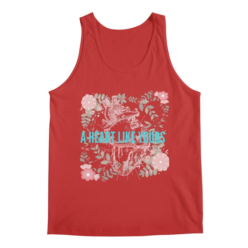 A Heart Like Yours Men's Tank by ChristGang Apparel