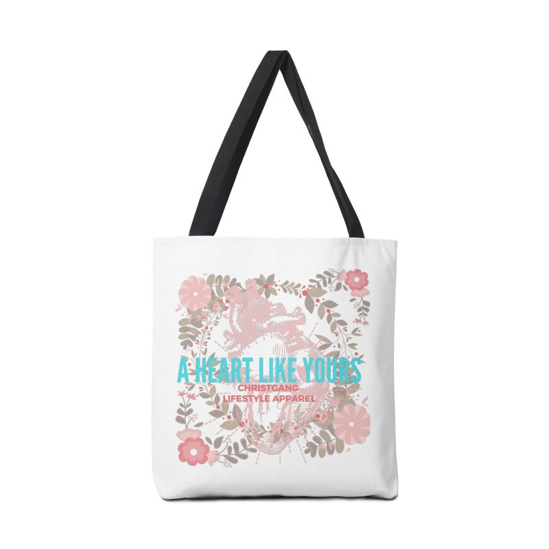 A Heart Like Yours Accessories Bag by ChristGang Apparel