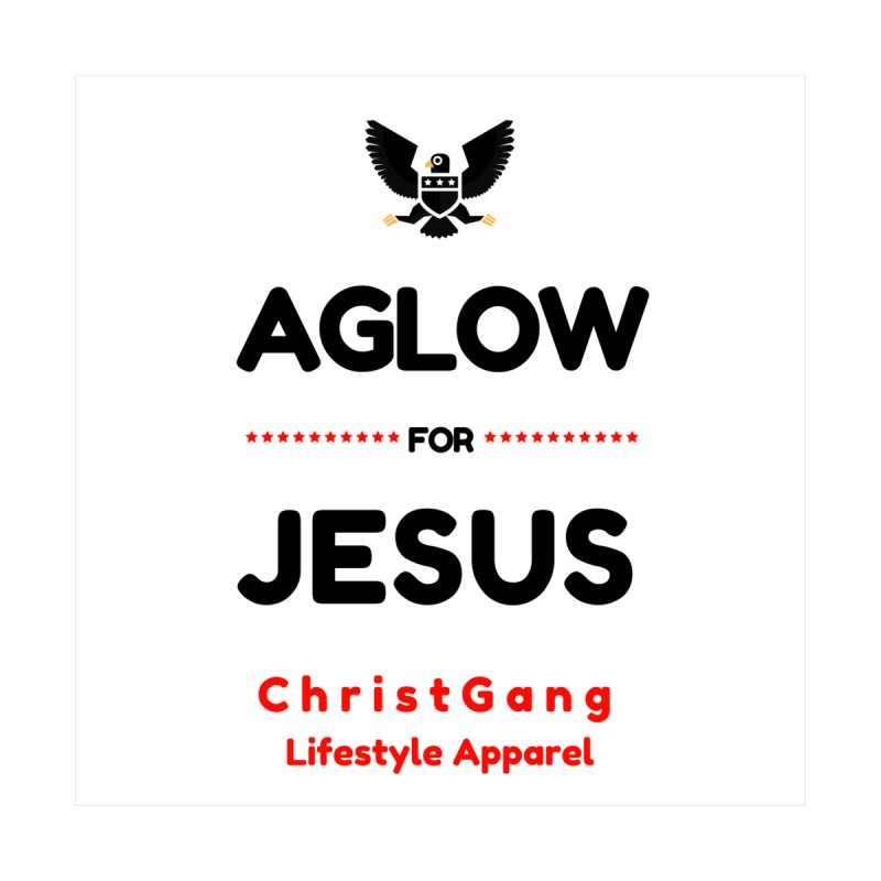 Aglow For Jesus Kids Baby T-Shirt by ChristGang Apparel
