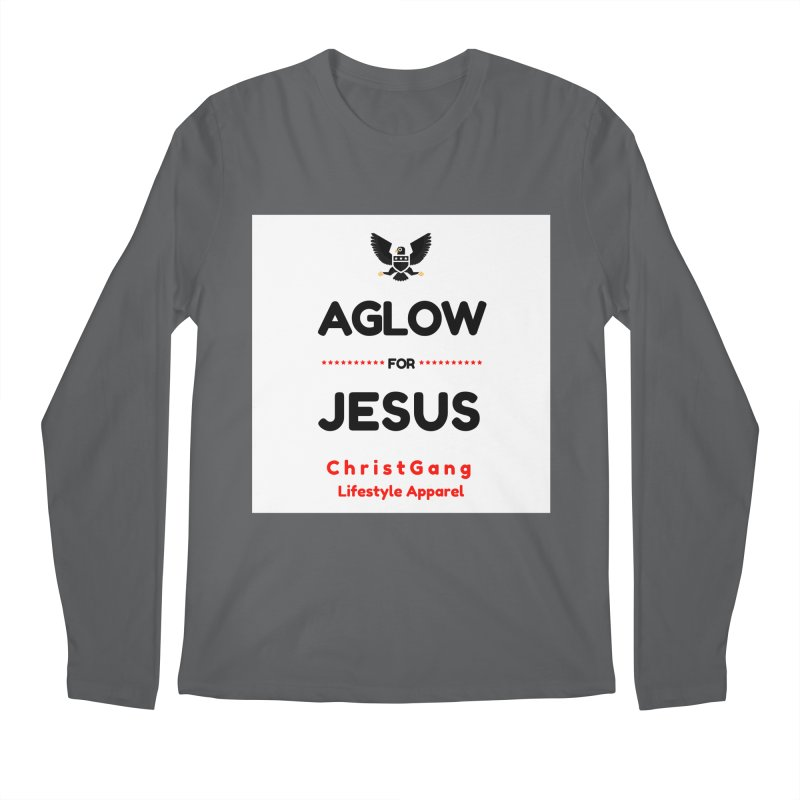 Aglow For Jesus Men's Regular Longsleeve T-Shirt by ChristGang Apparel