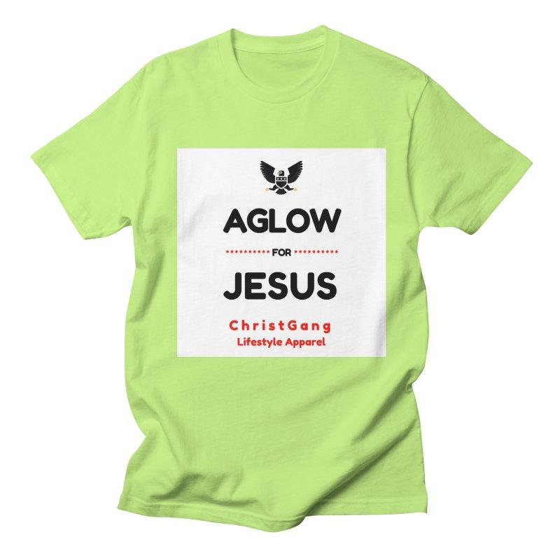 Aglow For Jesus Women's Regular Unisex T-Shirt by ChristGang Apparel