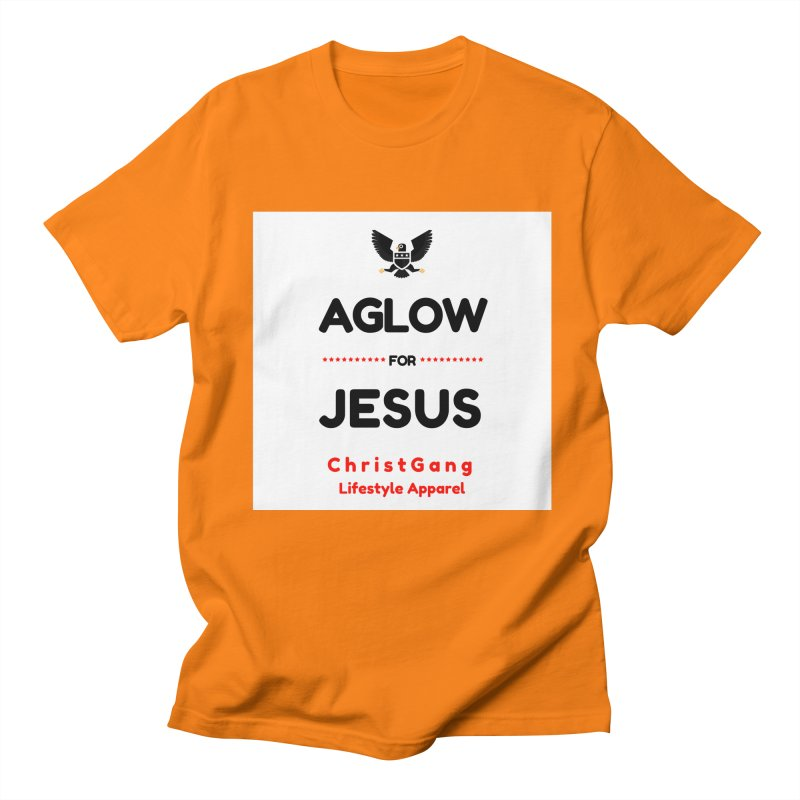 Aglow For Jesus Women's Regular Unisex T-Shirt by ChristGang Apparel