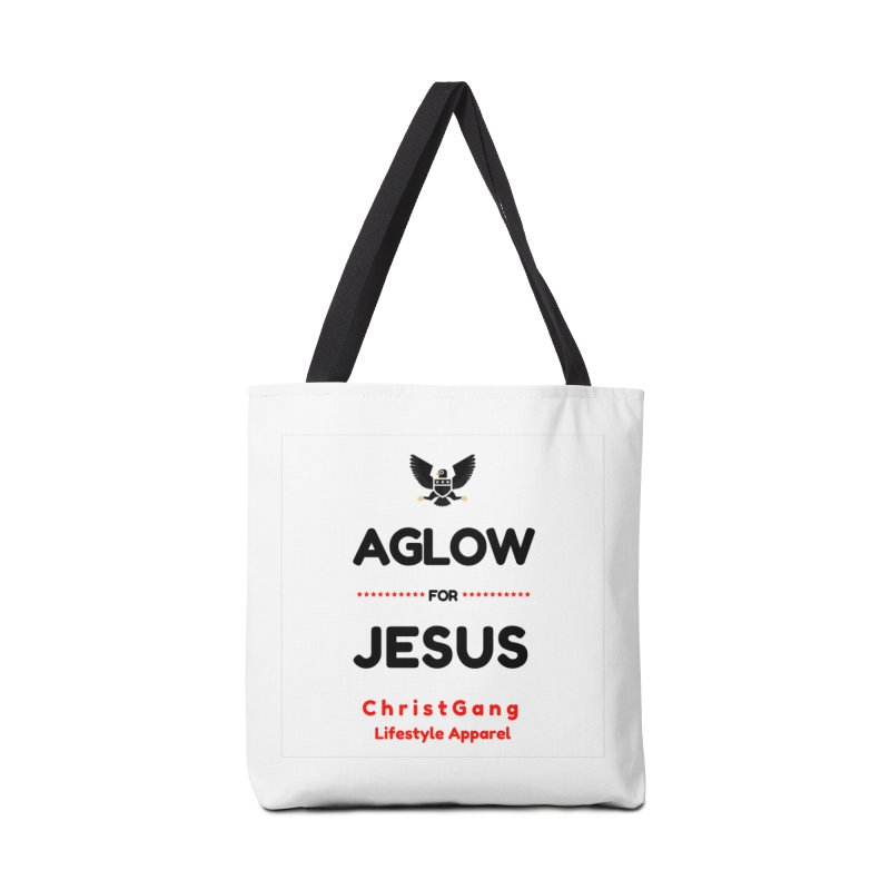 Aglow For Jesus Accessories Bag by ChristGang Apparel