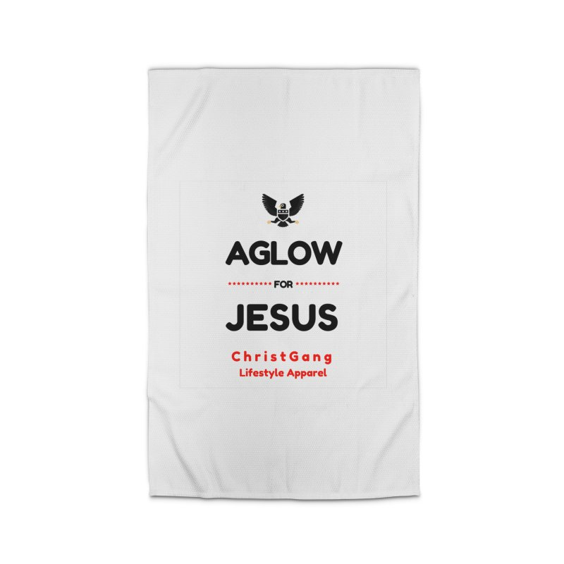Aglow For Jesus Home Rug by ChristGang Apparel