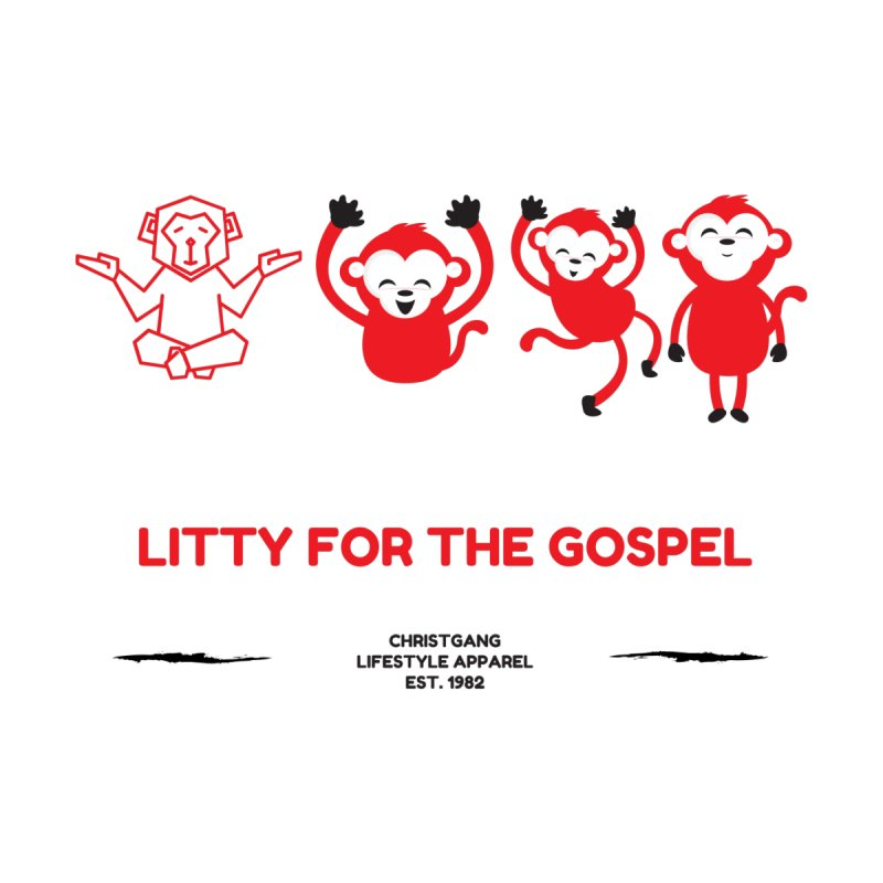 Litty For The Gospel Accessories Zip Pouch by ChristGang Apparel