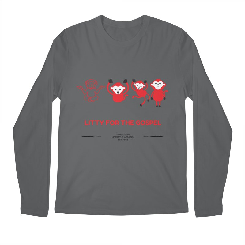Litty For The Gospel Men's Regular Longsleeve T-Shirt by ChristGang Apparel